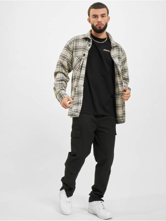 PEGADOR T-Shirty Nts Oversized czarny
