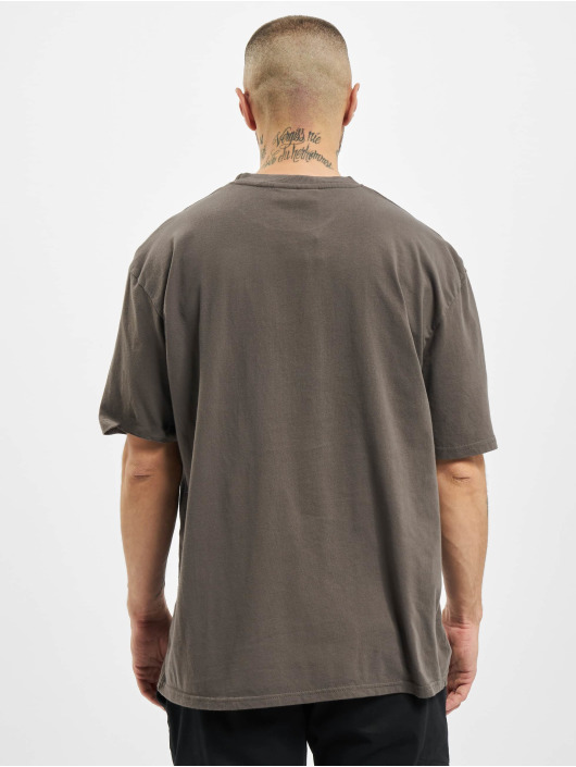 PEGADOR T-Shirty Cali Oversized szary