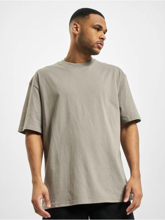 PEGADOR T-Shirty Basic Oversized szary