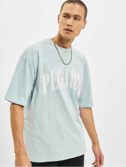 PEGADOR T-skjorter Cali Oversized blå