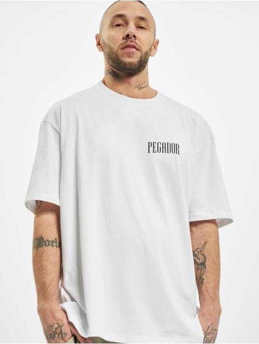 PEGADOR T-skjorter Mum Oversized hvit