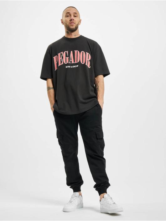PEGADOR T-skjorter Cali Oversized svart