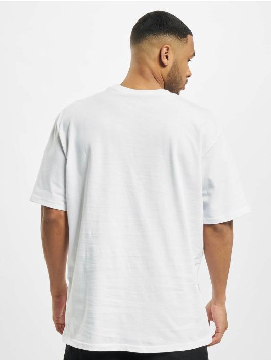 PEGADOR Tričká Basic Oversized biela