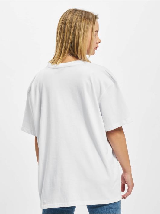 PEGADOR Trika Beverly Logo Oversized bílý