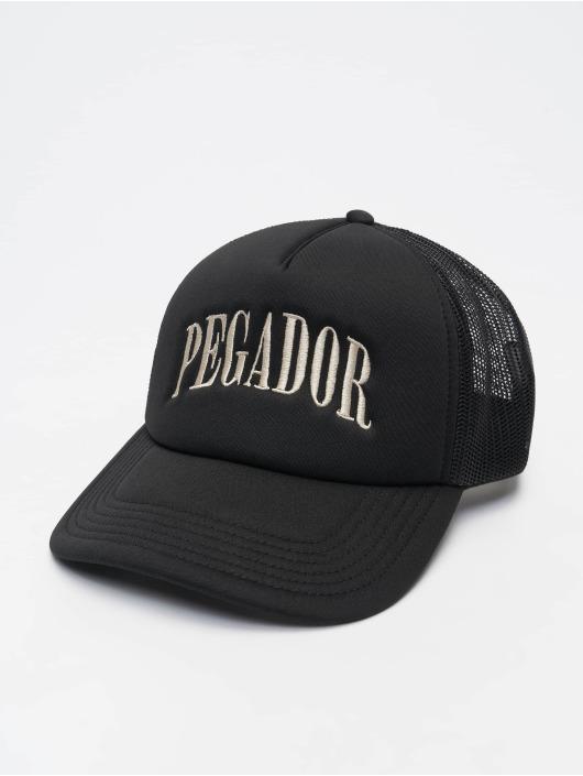 PEGADOR Trucker Cap Cali schwarz
