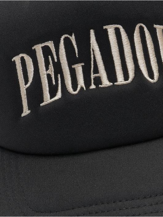 PEGADOR Trucker Caps Cali czarny