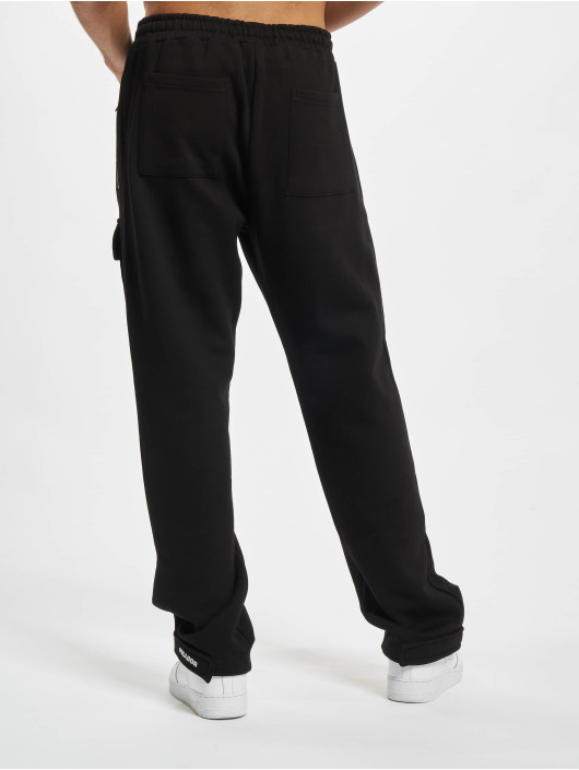 PEGADOR Verryttelyhousut Front Pocket musta