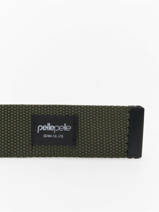 Pelle Pelle Bælte Coated Core-Porate oliven