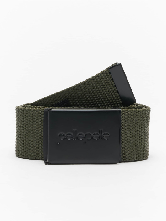 Pelle Pelle Belt Coated Core-Porate olive