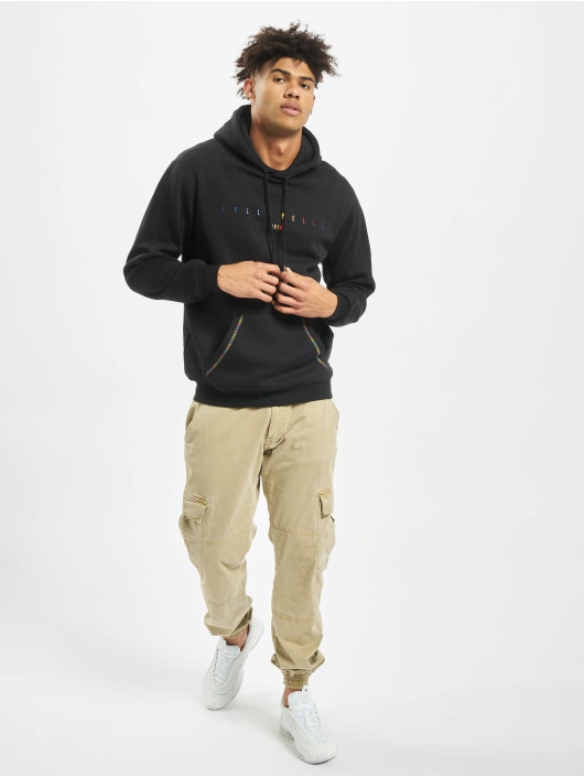 Pelle Pelle Bluzy z kapturem Colorblind czarny