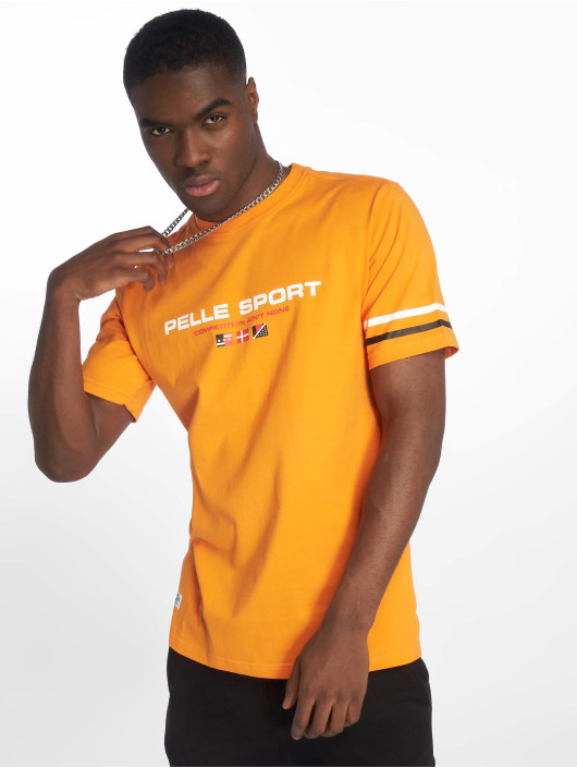 Pelle Pelle Camiseta No Competition naranja