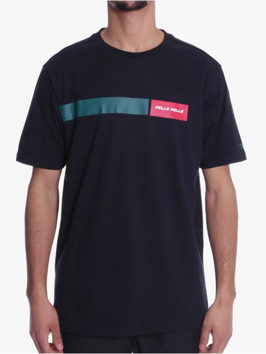 Pelle Pelle Camiseta Finish Line negro