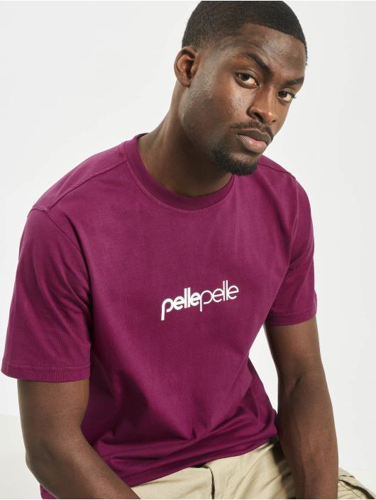 Pelle Pelle Camiseta Core Portate púrpura