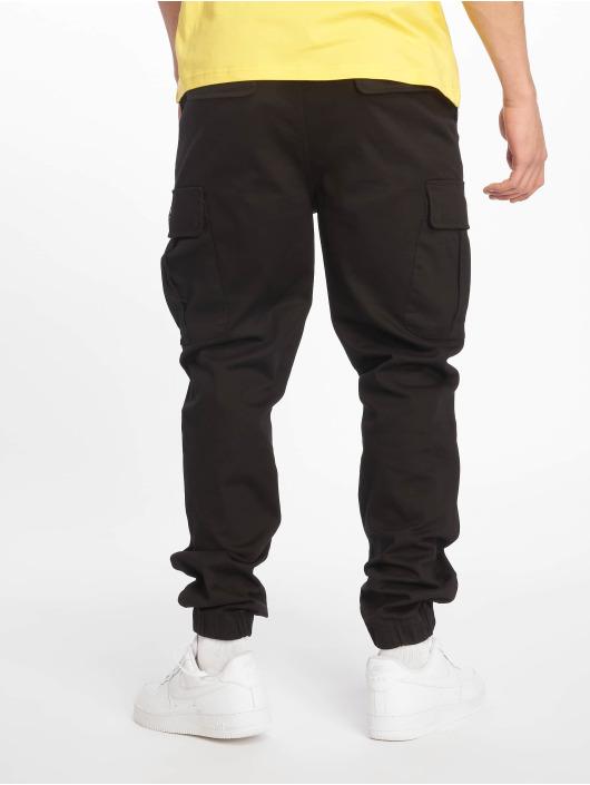 Pelle Pelle Cargohose Core Jogger schwarz