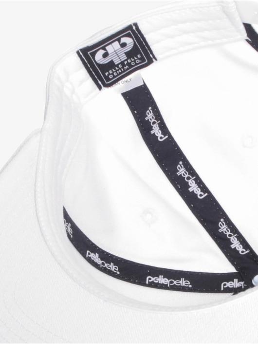 Pelle Pelle Casquette Snapback & Strapback Recognize blanc
