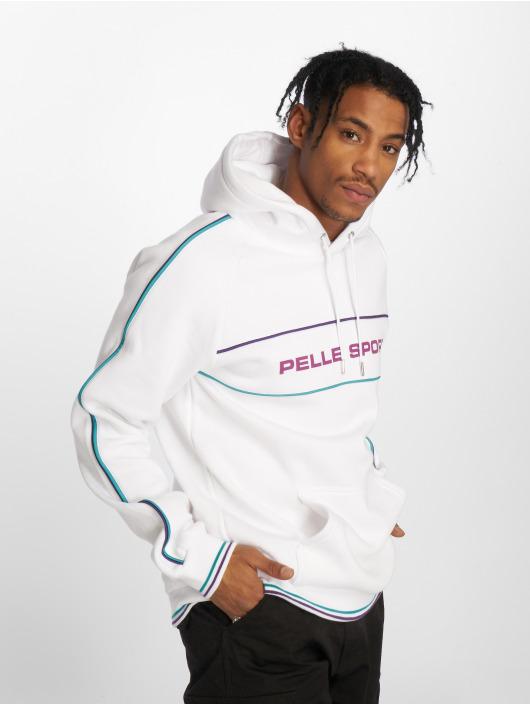 Pelle Pelle Hoodie Linear white