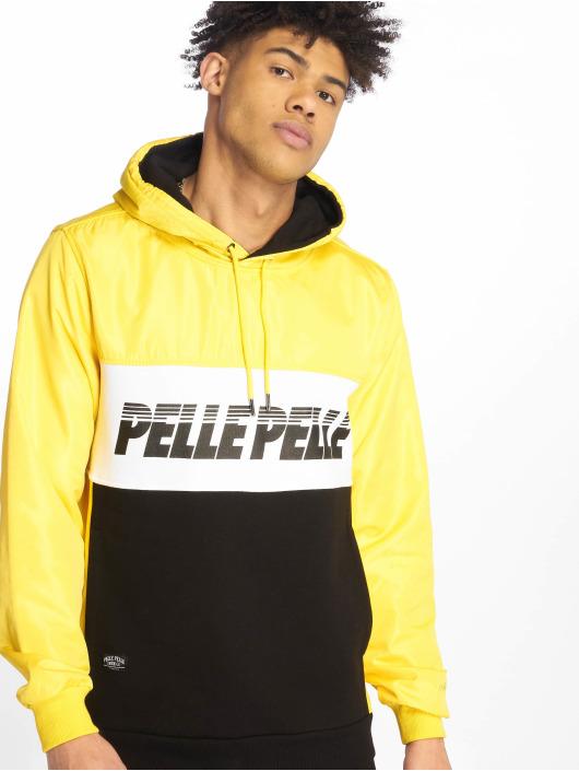 Pelle Pelle Hoodie Sayagata Cut yellow
