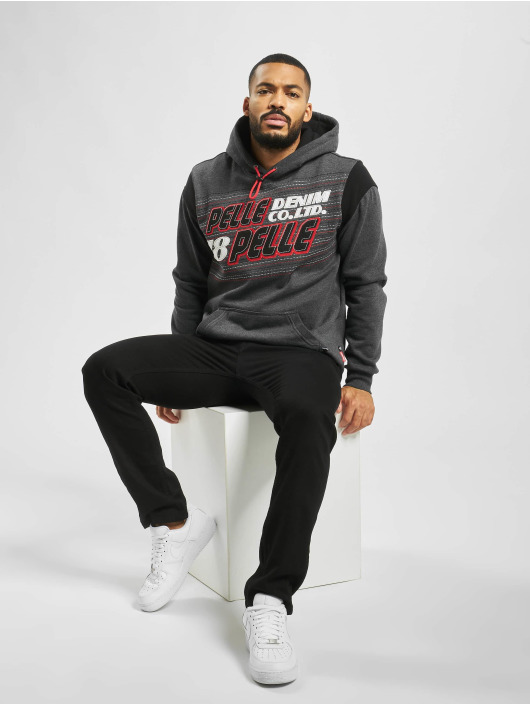 Pelle Pelle Hoody Upwards grau