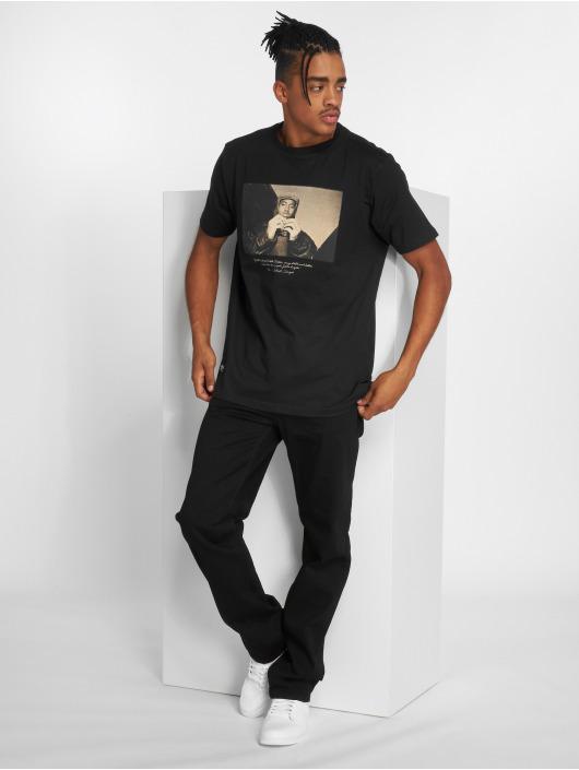 Pelle Pelle Jean coupe droite Baxter noir