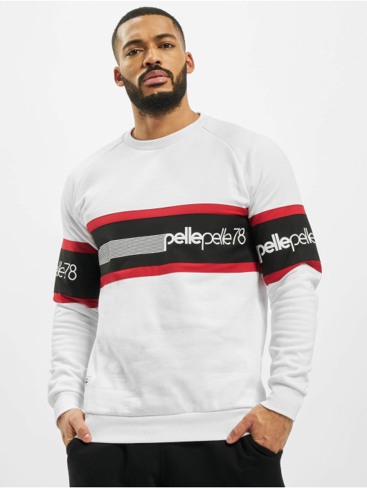 Pelle Pelle Jumper Stadium Block white