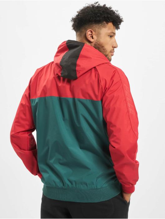Pelle Pelle Lightweight Jacket Colorblock red