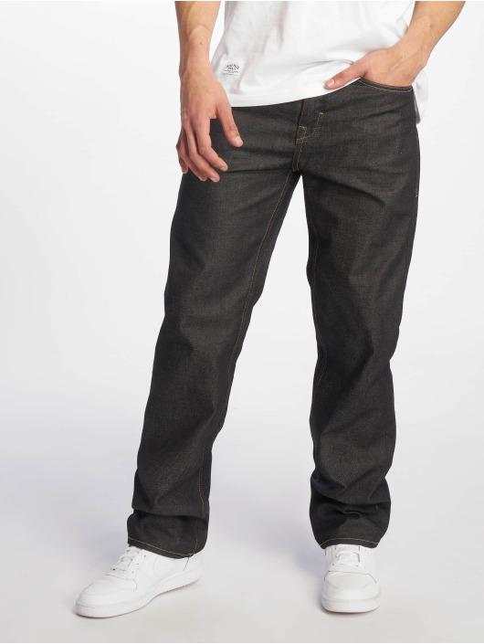 Pelle Pelle Loose Fit Jeans Baxter schwarz