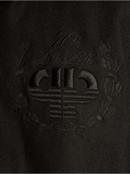 Pelle Pelle Manteau hiver Anniversary Transition noir