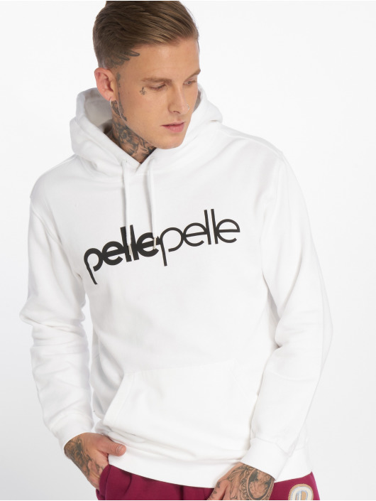 Pelle Pelle Mikiny Back 2 The Basics biela
