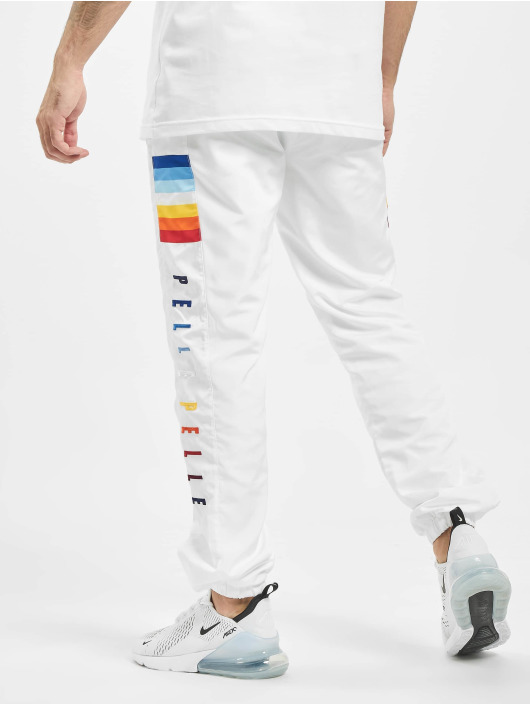 Pelle Pelle Pantalone ginnico Colorblind bianco