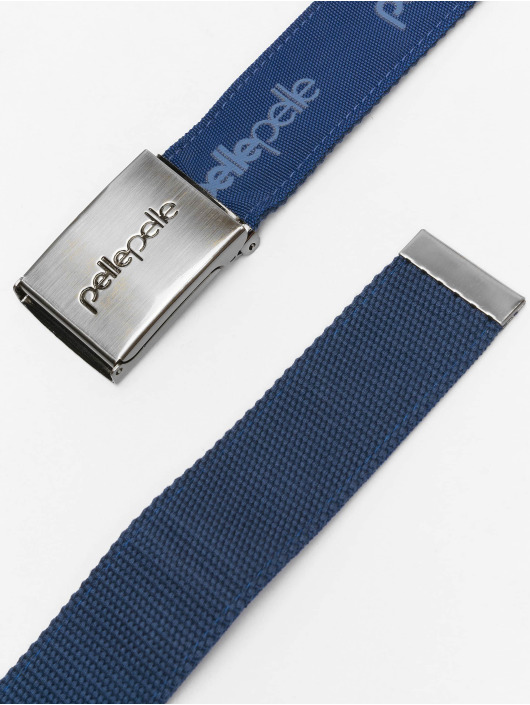 Pelle Pelle Paski Core Army Belt niebieski