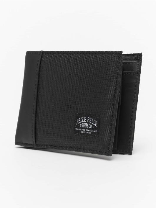 Pelle Pelle Portefeuille Wallet noir