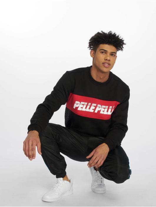 Pelle Pelle Pullover Sayagata Cut black