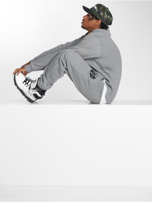 Pelle Pelle Pullover x Wu-Tang Batlogo Mix gray