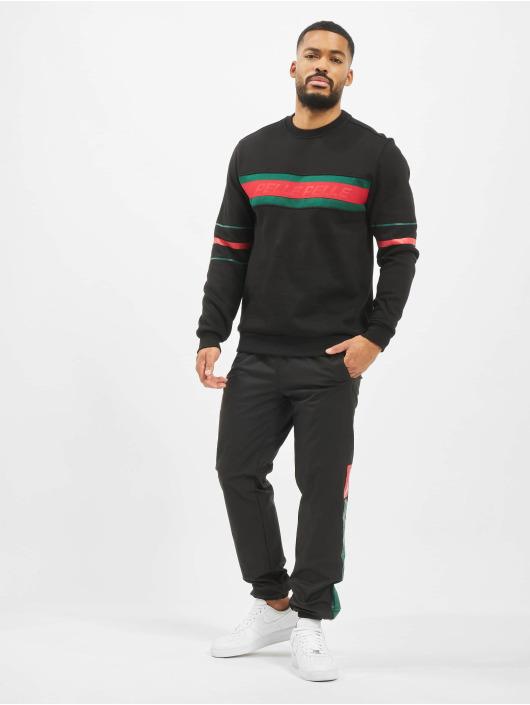Pelle Pelle Pullover Front 2 Back schwarz