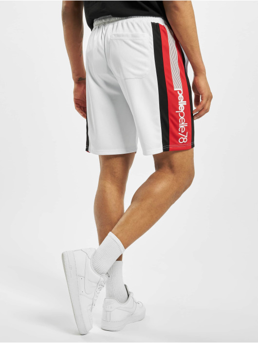 Pelle Pelle Short Stadium Block white