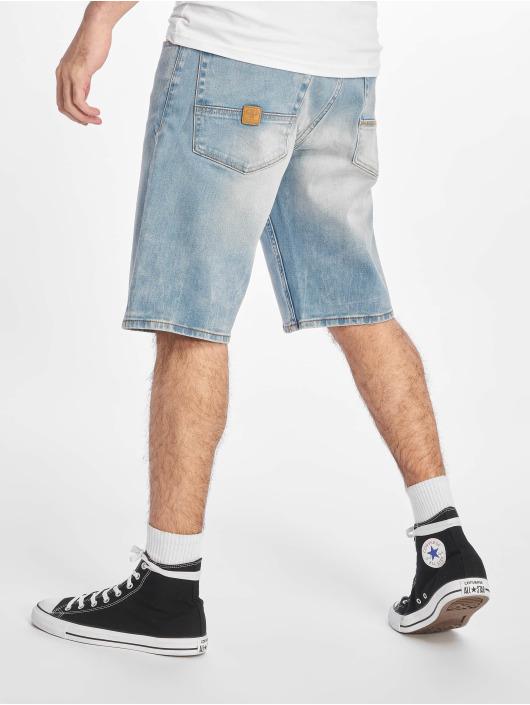 Pelle Pelle Shorts Buster Loose Denim blå