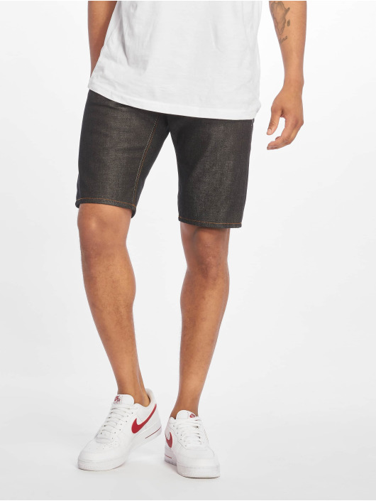 Pelle Pelle Shorts Buster Loose Denim svart