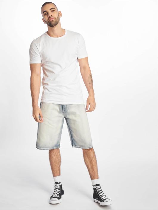 Pelle Pelle Shorts Buster Baggy Denim vit
