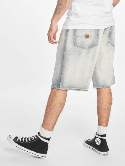 Pelle Pelle Shorts Buster Baggy Denim weiß