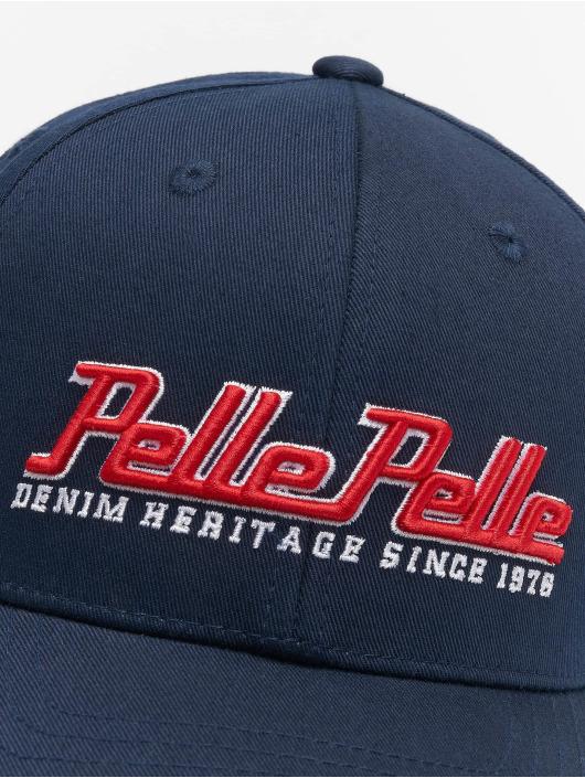 Pelle Pelle Snapback Cap Heritage Curved blue