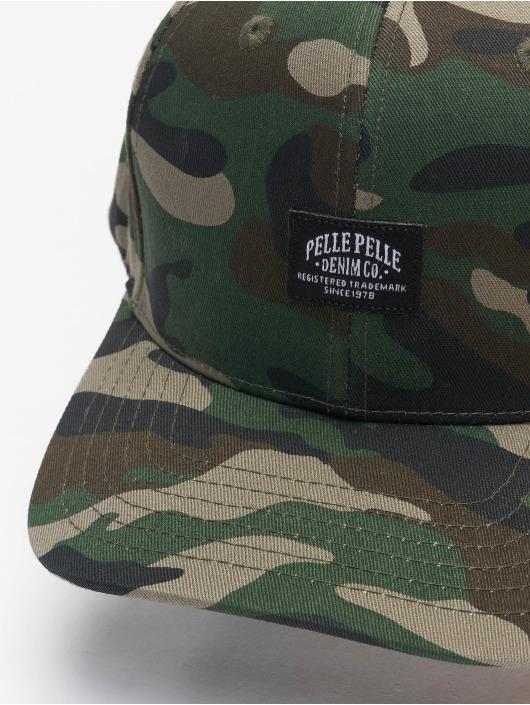 Pelle Pelle Snapback Cap Core Label camouflage