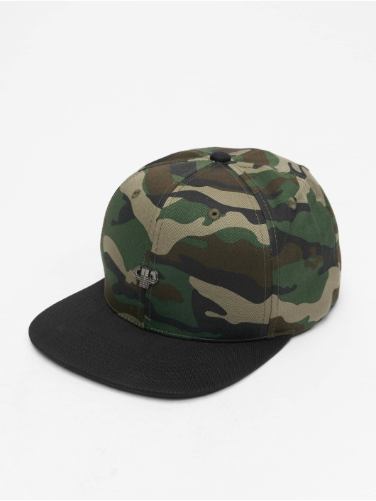 Pelle Pelle Snapback Cap Icon Plate camouflage