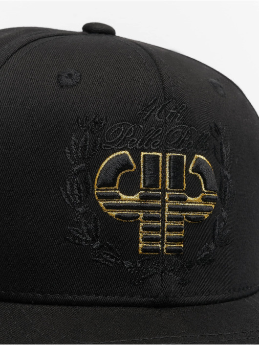 Pelle Pelle Snapback Cap Anniversary schwarz