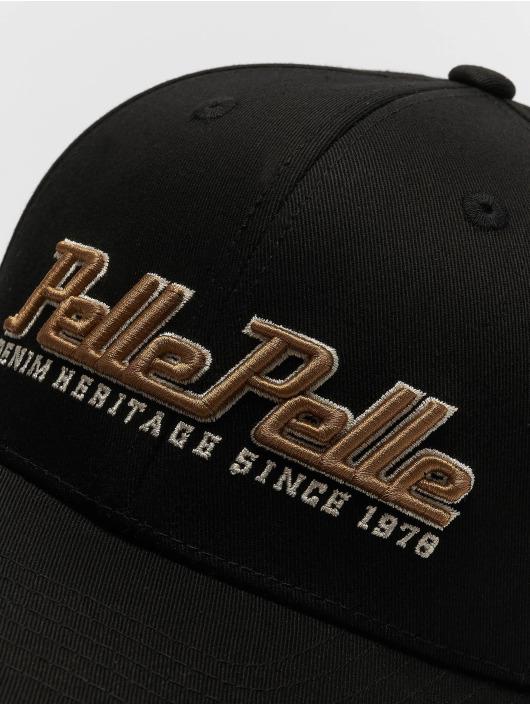 Pelle Pelle Snapback Cap Heritage Curved schwarz