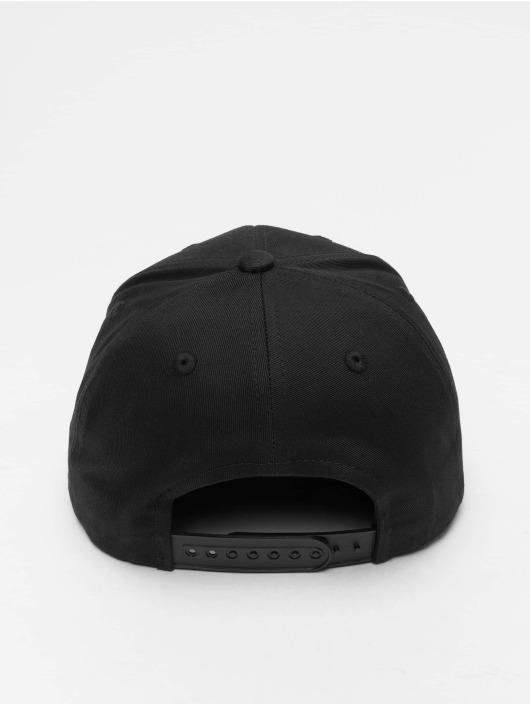 Pelle Pelle Snapback Cap Icon Plate Curved schwarz