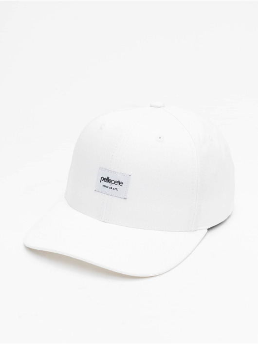 Pelle Pelle Snapback Cap Core-Porate Curved white
