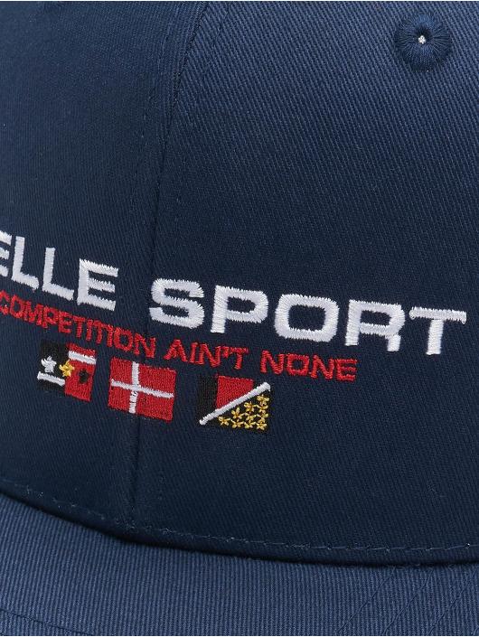 Pelle Pelle Snapback Caps Vintage Series Dad blå