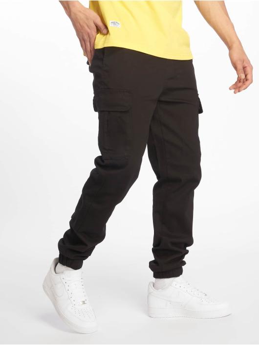 Pelle Pelle Spodnie Chino/Cargo Core Jogger czarny