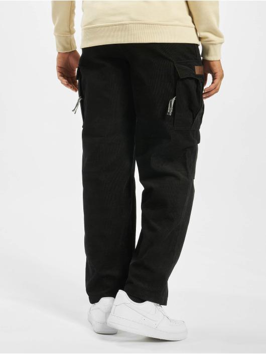 Pelle Pelle Spodnie Chino/Cargo Corduroy czarny