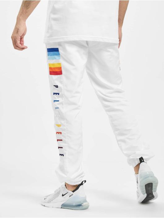 Pelle Pelle Spodnie do joggingu Colorblind bialy